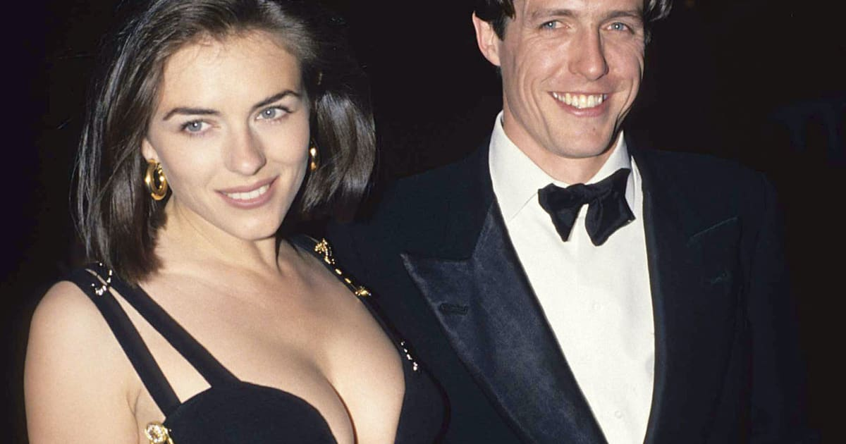 Great Outfits in Fashion History: Elizabeth Hurley in Her Famous Versace Safety Pin Dress