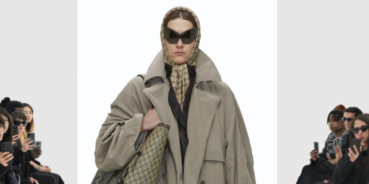 Balenciaga Takes a Trip Through the Gucci 'Hacking Lab'