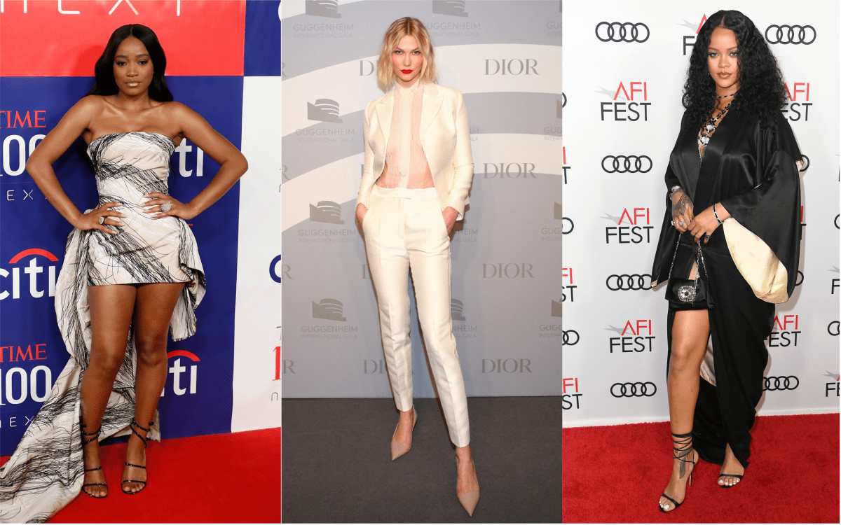Celebrities Went Neutral With Their Red Carpet Attire This Week