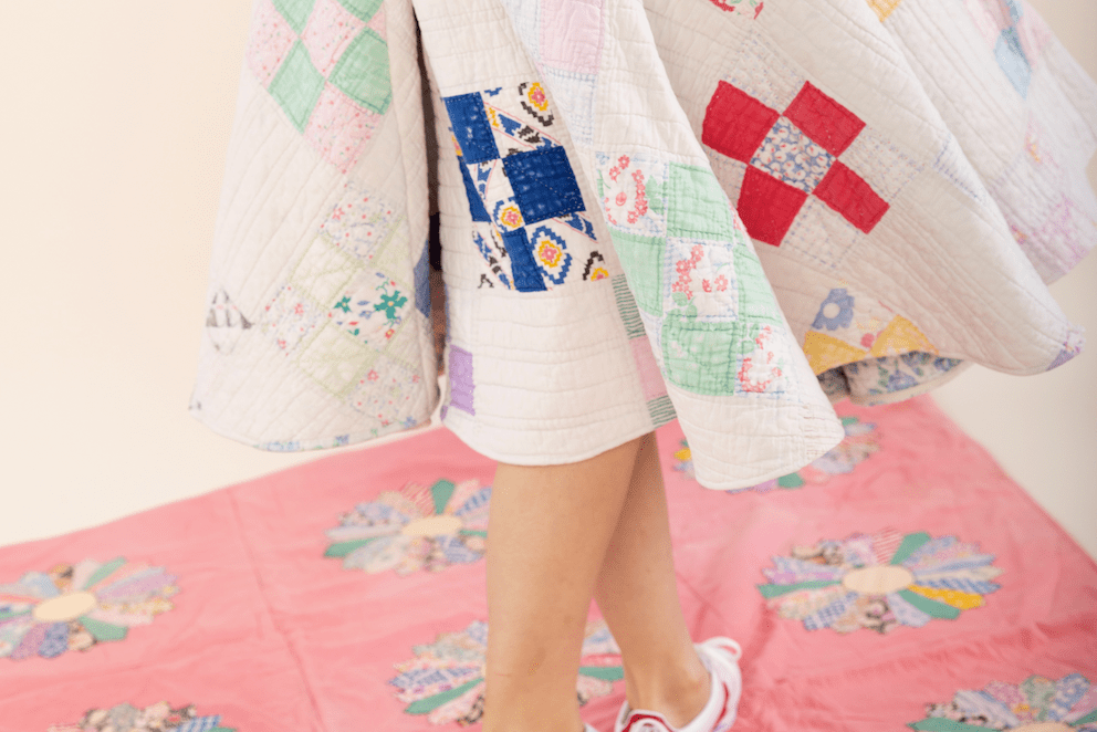 Whitney Just Really Wants to Wear Quilts in Some Form Every Day