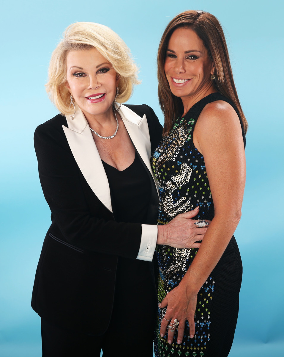 Joan And Melissa Rivers In 2017 Photo Christopher Polk Getty Images