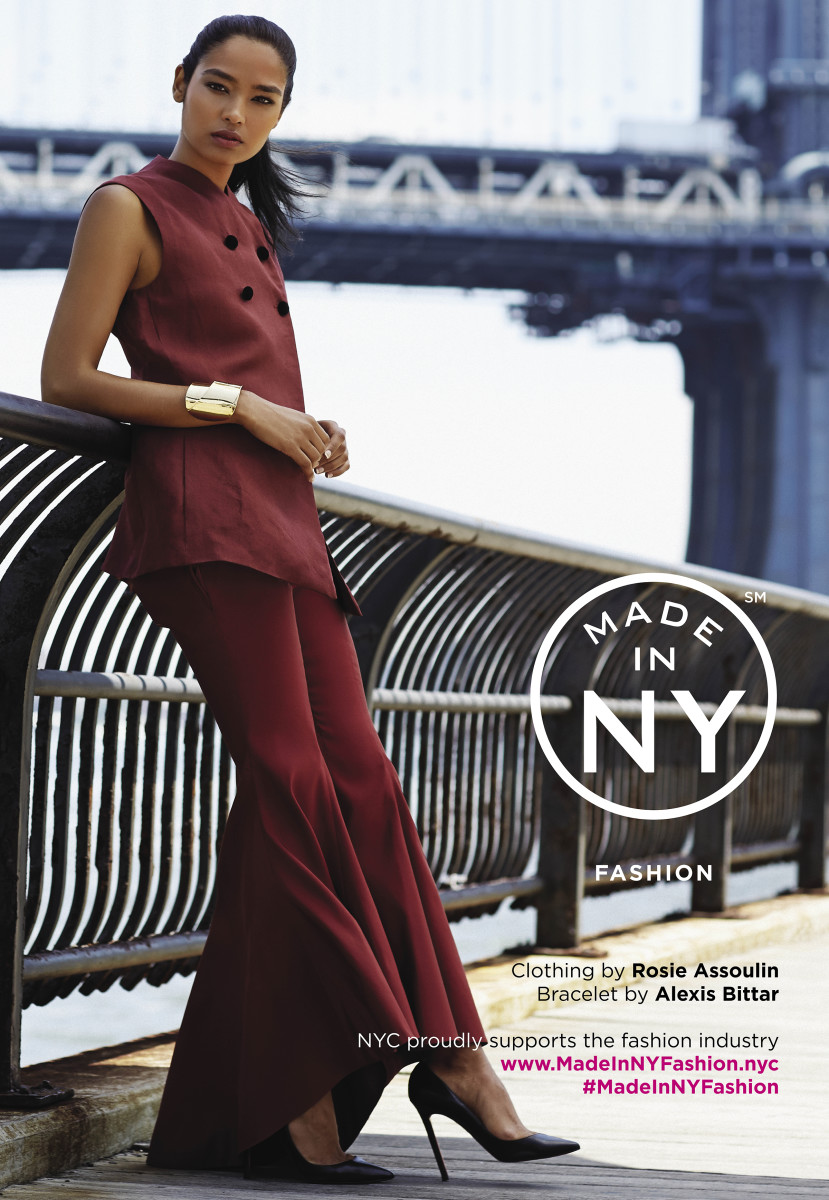 A Made In Ny Campaign Image Featuring Rosie Oulin And Alexis Bittar Photo