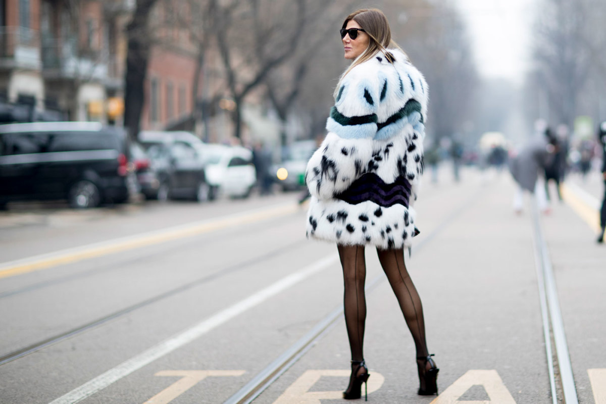 On The Street Of Milan Fashion Week Photo Imaxtree