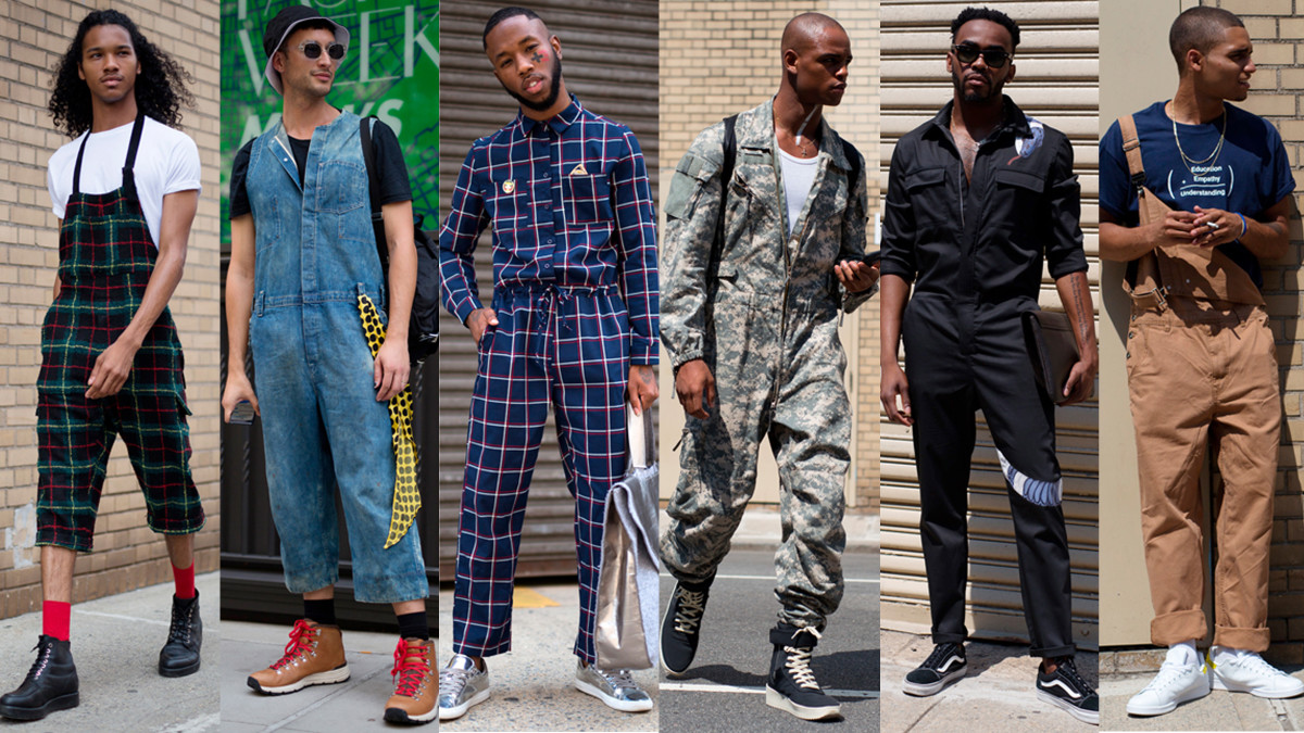 Jumpsuits And Overalls Were Popular Among Showgoers At New York Fas