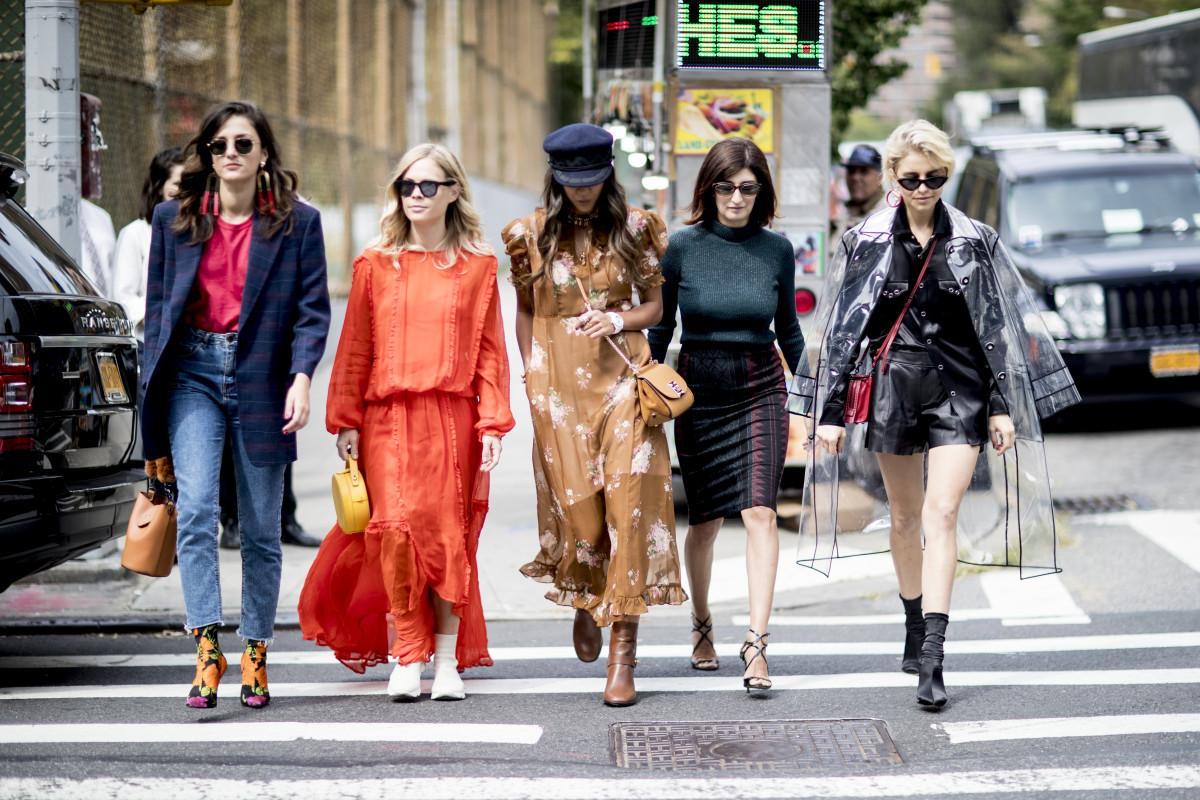 foto Milan Fashion Week Fall 2019 Street Style Trends