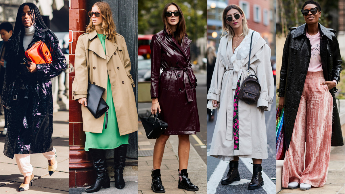 Showgoers Wore Their Best Trench Coats On Day 5 Of London