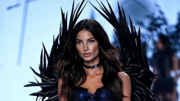 Lily Aldridge. Photo: Pascal de Segretain/Getty Images