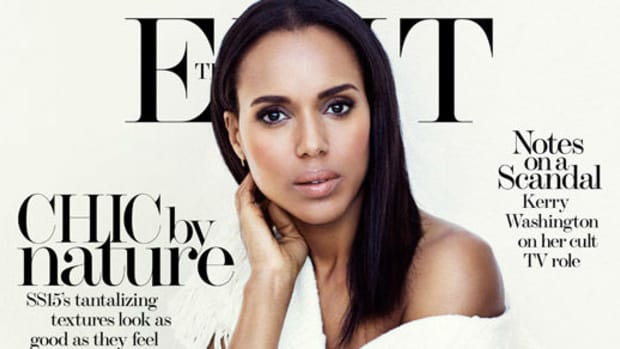 Kerry Washington for The Edit. Photo:The Edit/Bjorn loose