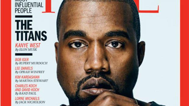 Kanye West. Photo: Time