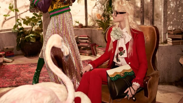 d63c4b8c9cf8a The Gucci Pre-Fall Campaign Takes a Turn for the Tropical