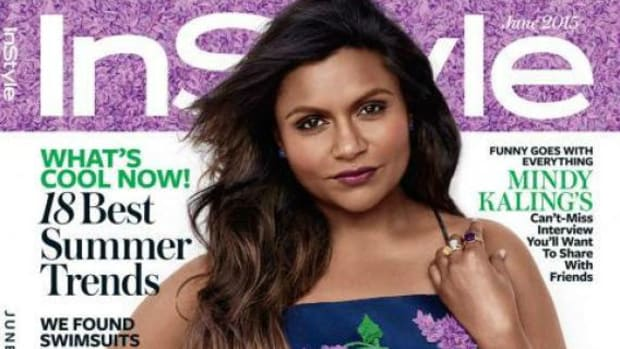 Mindy Kaling.  Photo: Bjarne Jonasson/InStyle