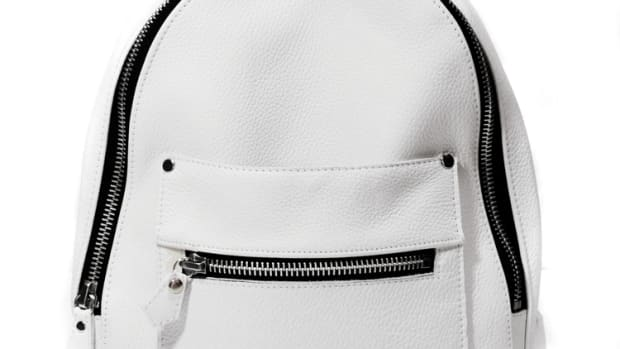 Khoi Le White Mini Collegiate Backpack.jpg