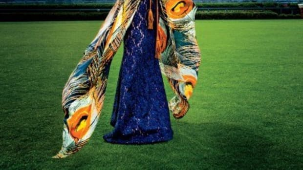 Southern Living Magazine: Marianne Hudson wearing Bindya NY scarf