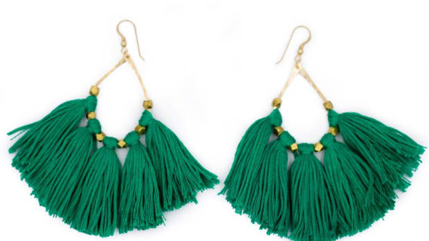 often wander tassel earrings