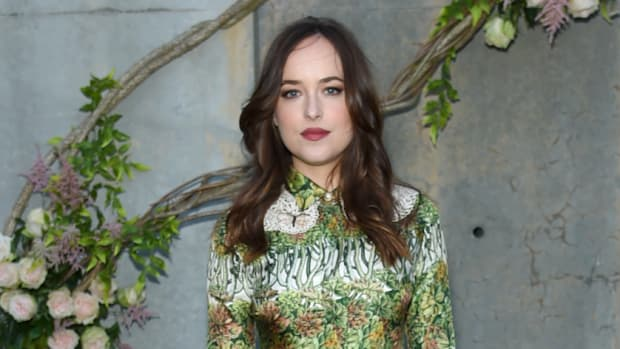 9a8a1b9c5fd0 Dakota Johnson Is a Spring Dream in Gucci