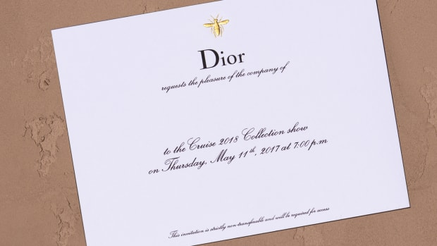 DIOR_CRUISE 2018_ INVITATION ©Sophie Carre