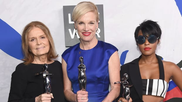 Gloria Steinem, Cecile Richards and Janelle Monáe
