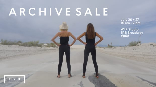 ARCHIVE SALE FOR FASHIONISTA INFO