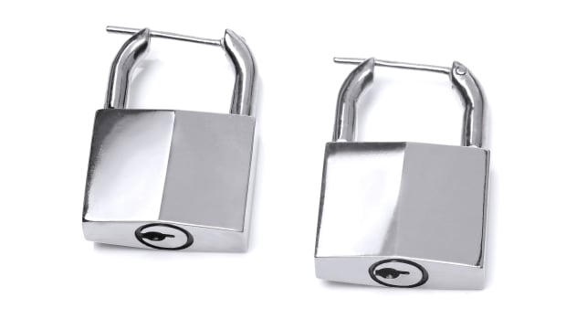 padlock earrings 2