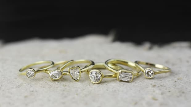 18k diamonds rings banner