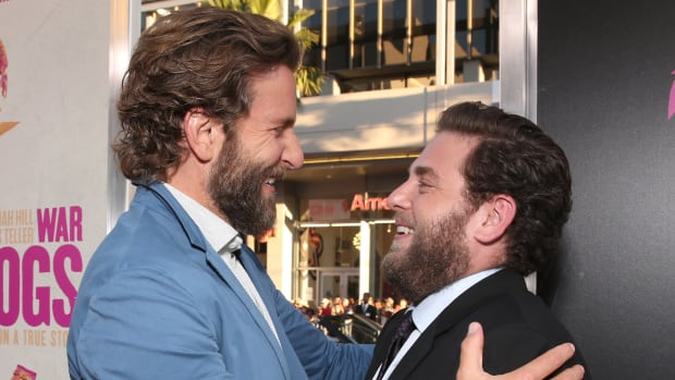Bradley Cooper and Jonah Hill Both Have Beards 4a36f27e4