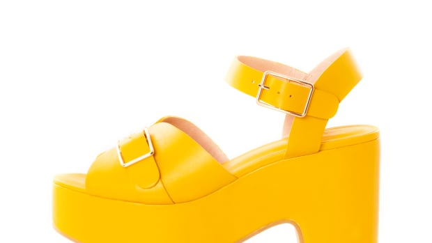 charlotte stone yellow wedges