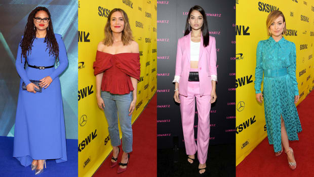 best dressed celebrities bright color
