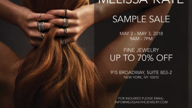 Melissa Kaye Sample Sale May 2018