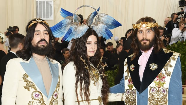 jared leto  met headpiece