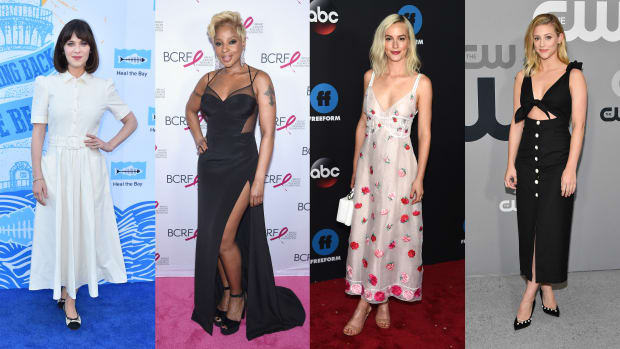 black white red best dressed celebrities