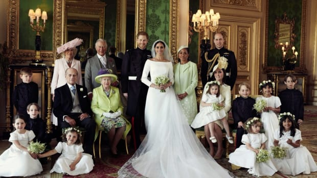 royal wedding family portraits