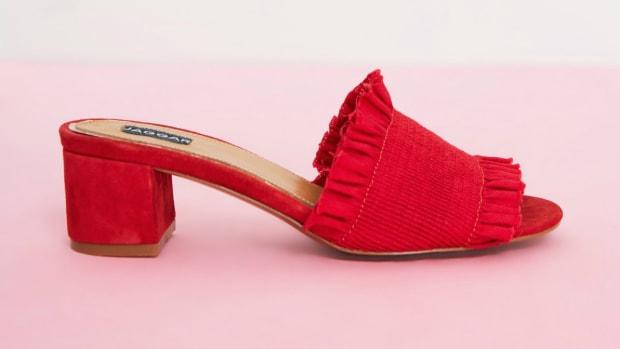 red-block-heels