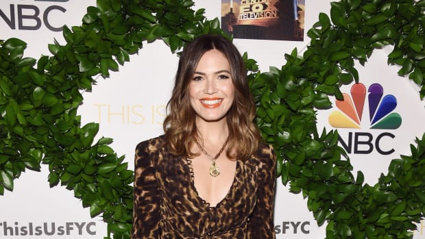 mandy moore stella mccartney jumpsuit this is us-