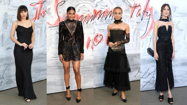 black dresses serpentine party