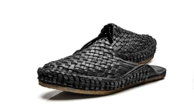 mohinders black slippers