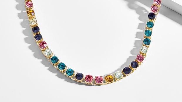baublebar nova tennis necklace