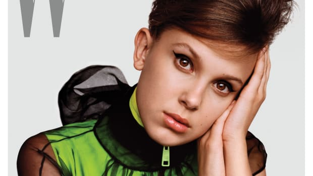 millie bobby brown W mag-