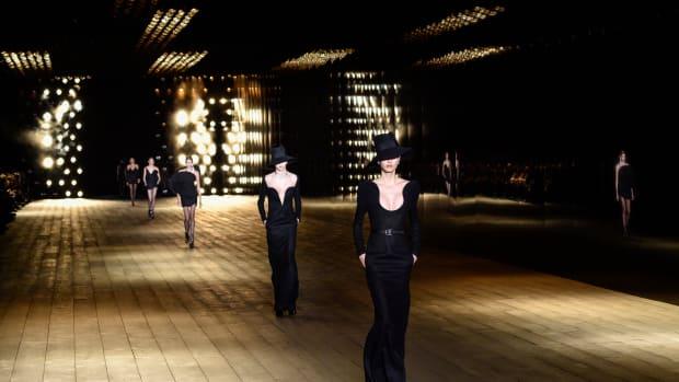 saint laurent womenswear revenues