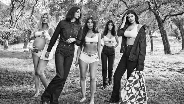 0e01139543db The Kardashian-Jenner Sisters Are Back For Another Calvin Klein Campaign