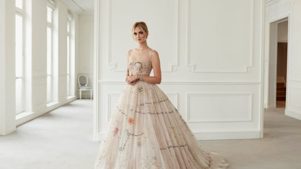 chiara ferragni dior couture wedding gown