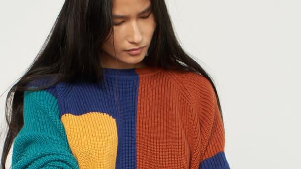 mara hoffman vintage sweater-