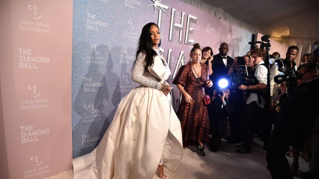 rihanna diamond ball 2018