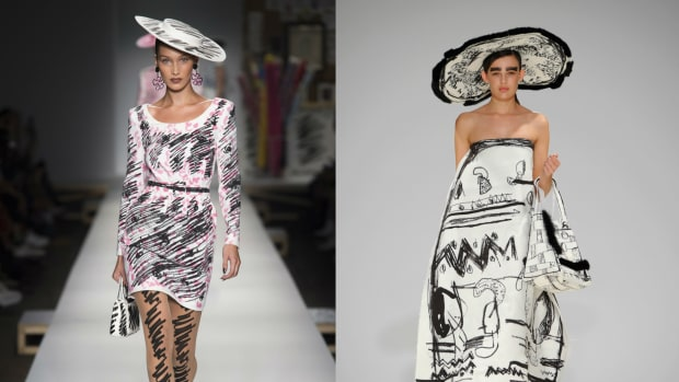 bbe246e860892 Did Jeremy Scott Copy This Emerging Designer in His Spring 2019 Moschino  Collection? [Updated]