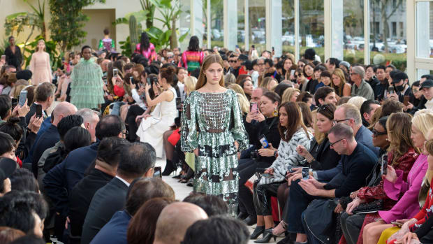 b889f2890102d Valentino's Spring 2019 Collection Is a Garden in the Middle of a Desert