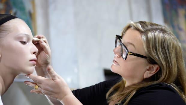 Linda Cantello makeup 2