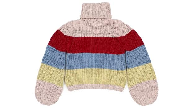 reformation x la ligne striped sweater