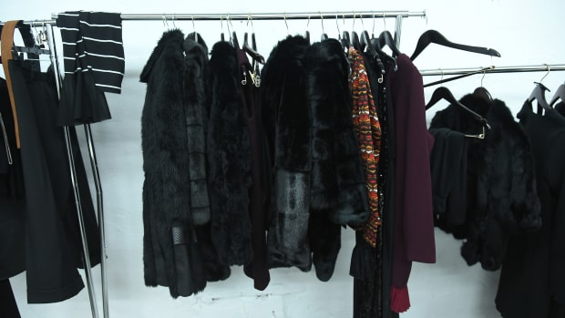 clothing rack sample sale