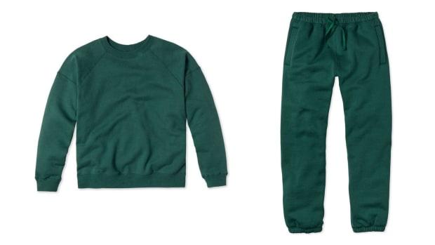 entireworld green sweatsuit