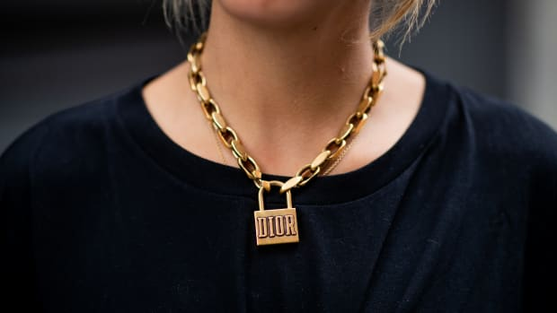 padlock jewelry necklace-1