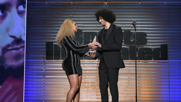 beyonce colin kaepernick laquan smith